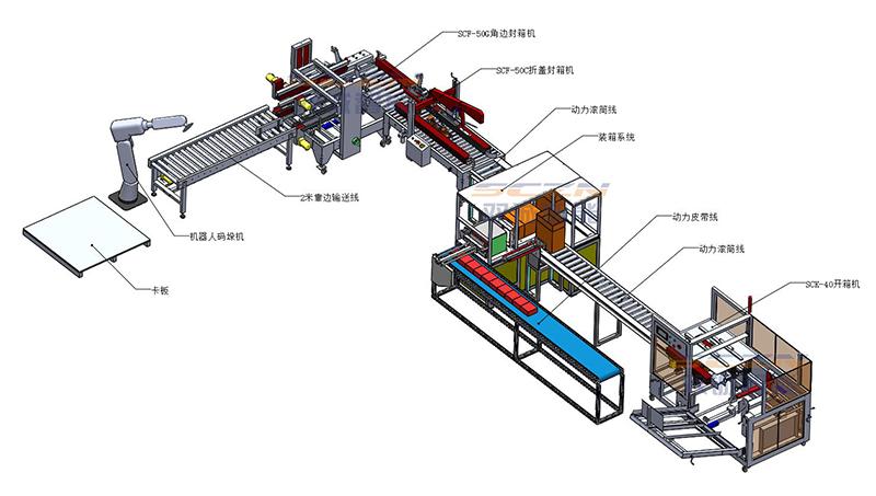 南京包装码垛线